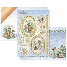 Hunkydory Crafts- Topper Set- Let it Snow ROBIN901