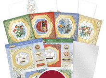 Hunkydory Crafts Little Red Robin Floating Topper Concept Cards- ROBIN104