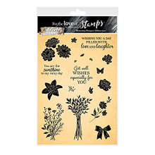 Hunkydory Crafts for The Love of Stamps - Blooming Bouquet Silhouettes - FTLS749