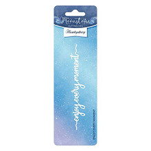 Hunkydory Crafts Moonstone Die - Enjoy Every MOMENT-MSTONE361