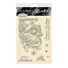 Hunkydory for The Love of Clear Stamp Set Robin's House FTLS762