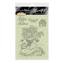 Hunkydory for The Love of Clear Stamp Set Robin's Beautiful Bouquet FTLS761