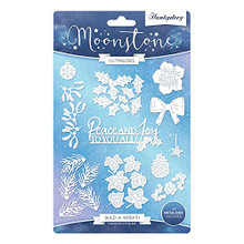 Hunkydory Crafts Festive Floral - Build a Wreath - 11 Dies - MSTONE403