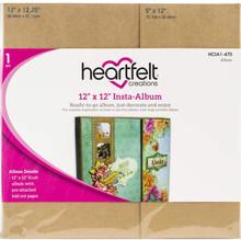 Heartfelt Creations Insta-Album Kraft 12'X12', HCIA2470