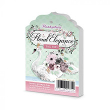 Hunkydory - A Fabulous Finishes - Floral Elegance - Tag Pad - 300gsm - 48 Sheets
