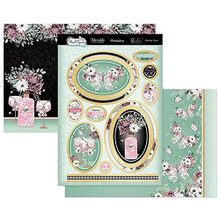 Hunkydory Crafts- Fabulous Finishes Collection Floral Elegance Topper Set- Flutterbye Wishes FLORAL901