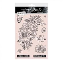 Hunkydory Crafts- For The Love of Stamps- Floral Elegance- Floral Delight A5 Stamp Set FTLS751