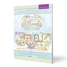 Hunkydory Crafts- Deluxe Craft Pad- Acorn Woods DCPAD104