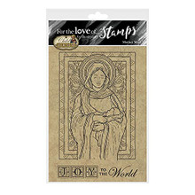 Hunkydory Crafts- for The Love 'Hunkydory Crafts - for The Love of Stamps - Mother Mary A6 Stamp Setof Stamps- A Child is Born - Mother Mary FTLS781
