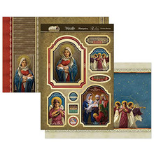 Hunkydory Crafts - A Child is Born -CHRISTMAS BLESSINGS - Luxury Topper Set BORN901