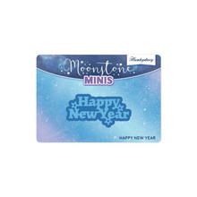 Hunkydory Crafts Moonstone Minis Dies -Happy New Year