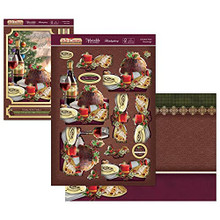 Hunkydory Crafts The Joy of Christmas Deco-Large - A Festive Feast