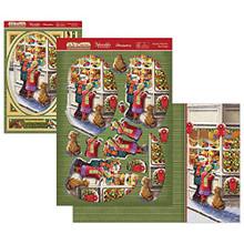 Hunkydory Crafts The Joy of Christmas Deco-Large Topper Set - Toyshop Treasures - JOYDEC908