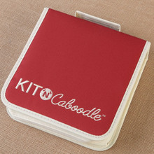 Kit'n' Caboodle Ring Binder w/ Zip- Small w/ Pockets