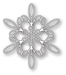 Memory Box 100% Steel Purslane Snowflake Cutting Die