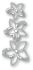 Memory Box 100% Steel Sketch Blooms Cutting Die- 94250