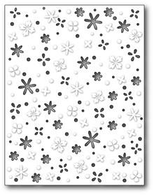 Memory Box 100% Steel Flower Meadow Background Cutting Die- 99415