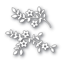 Memory Box 100% Steel Cherry Blossom Branches Cutting Die- 94434