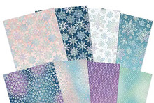 Hunkydory Crafts A Sparkling Season Edge-to-Edge Holographic Cardstock - 16 Sheets