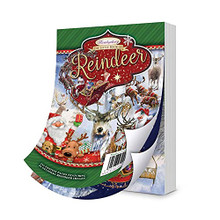 Hunkydory Crafts The Little Book of Reindeer - LBK265