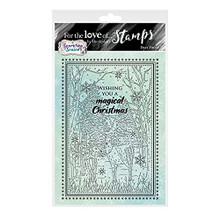 HunkyDory Crafts- for The Love of Stamps - Deer Forest A6 Stamp - FTLS766