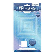 Hunkydory Moonstone Cutting Dies - Duo Stitched Nesting Dies Squares - MSTONE453