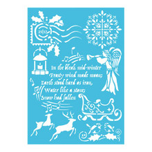 Imagination Crafts A4 Stencil- Classic Christmas 866084