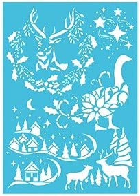 Imagination Crafts A4 Stencil- Going Home 866085