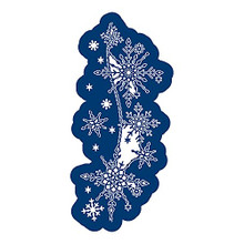 Tattered Lace Frosted Lace- Shimmering Snowflakes Cutting Die 859797