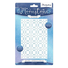 Hunkydory Moonstone Cutting Dies - Textures Gorgeous Gingham - MSTONE412