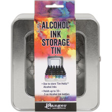 Tim Holtz Alchohol Ink Storage Tin
