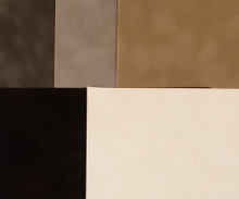 Velveteen Paper 8.5x11 Luxurious Sueded Specialty Papers- 5 pcs bundle- Monochromatic