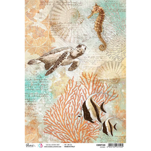 Ciao Bella Paper crafting Rice Paper Oceanic CBRP169