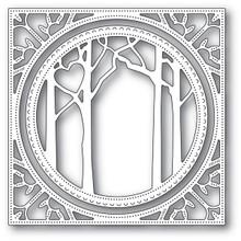 Memory Box 100% Steel Woodland Heart Frame Cutting Die- 94121