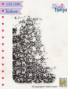 Nellie's Choice Texture Clear Stamp- French Lilies