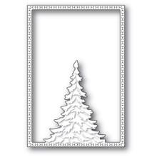 Memory Box 100% Steel Single Pine Tree Frame Cutting Die- 94479