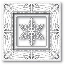 Memory Box 100% Steel Bauble Snowflake Frame Cutting Die- 94314