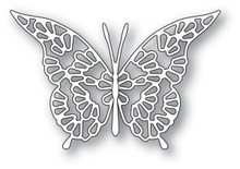 Memory Box 100% Steel Lace Butterfly Cutting Die- 94116