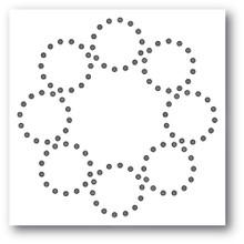 Memory Box 100% Steel Stitched Circle Wreath Cutting Die- 94407
