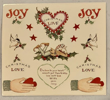 Susan Branch Stickers Christmas Love 12697