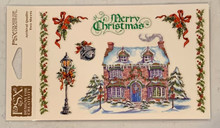 PSX Stickers Christmas House Stickers SH6477