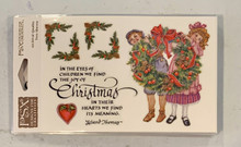 PSX Stickers Vintage Wreath Christmas Stickers SH6480