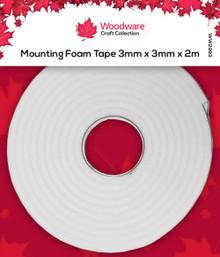 Woodware Mounting Foam Tape 3mm x 3mmx 2m WW2983