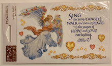 PSX Stickers Angels Sing Stickers SH6476