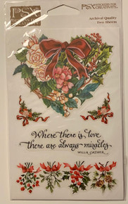 PSX Stickers Heart of Christmas Stickers SH6476