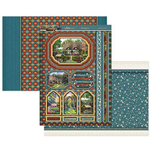 Hunkydory Crafts Country Escapes Luxury Set- Cottage Garden ESCAPES902