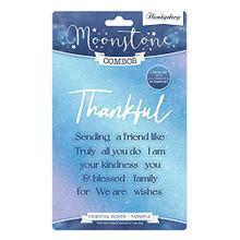 Hunkydory Moonstone Combo - Essential Words- Thankful - MSTONE463