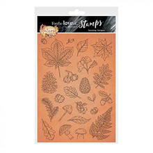Hunkydory Crafts- for The Love of Stamps -Amazing Autumn A5 Stamp Set - FTLS815