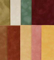 Velveteen Paper 8.5x11 Luxurious Sueded Specialty Papers- 9 pcs bundle- Fall