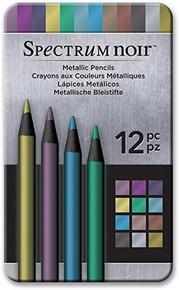 Spectrum Noir Metallic Pencils 12-pc Set